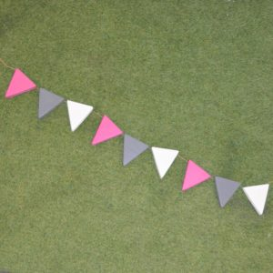 mud kitchen bunting